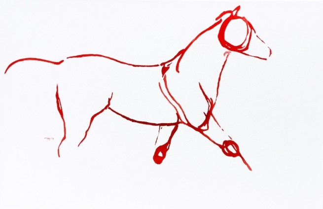 Red Horses by September Vhay, Red Horse 92