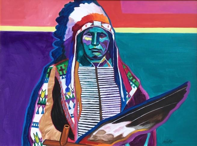 John Nieto, Broken Arm Sioux