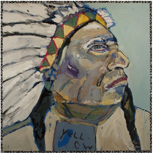 Ira Yeager, Indian Portrait #14112