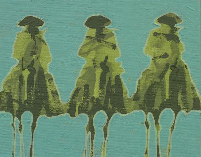 Duke Beardsley, Vaqueros Pequeños - Mint on Green