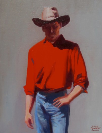 Gary Ernest Smith, Man in Red Shirt
