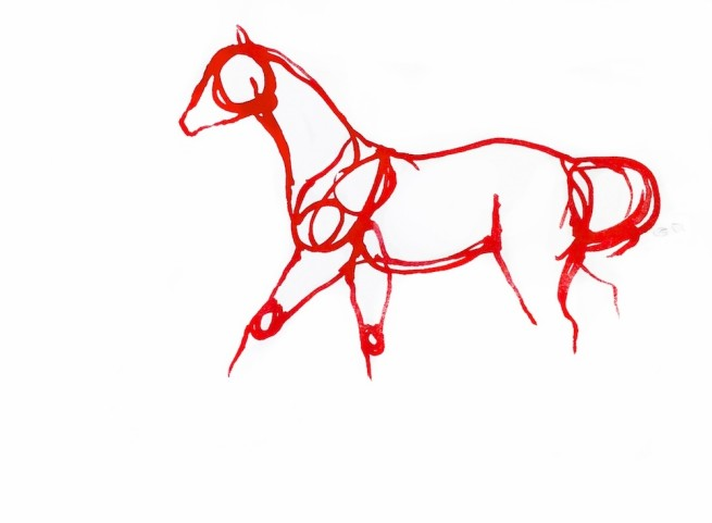 Red Horses by September Vhay, Red Horse 85