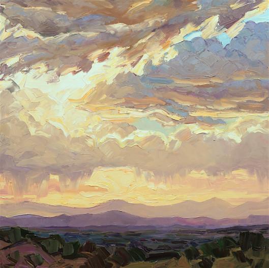 Jivan Lee, Sunset Over Jemez