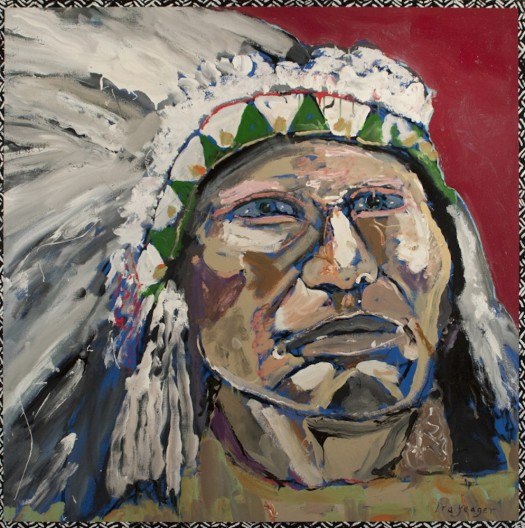 Ira Yeager, Indian Portrait #14114