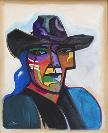 John Nieto, Self-Portrait