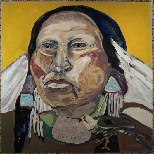 Ira Yeager, Indian Portrait #14058