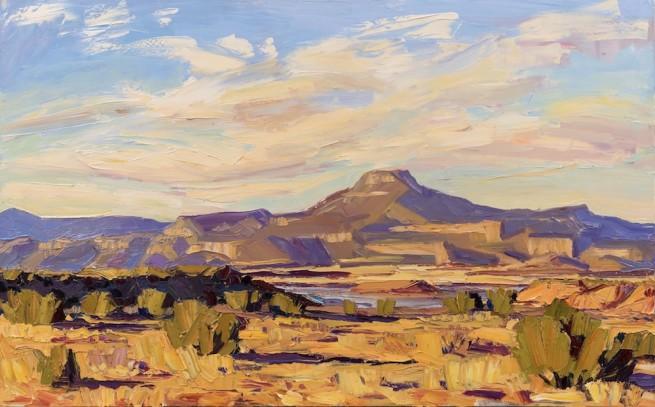 Jivan Lee, Cerro Pedernal in the Morning
