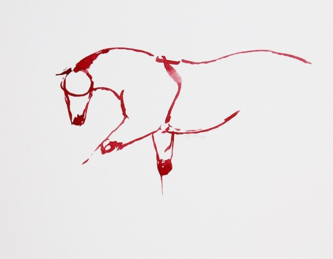 Red Horses by September Vhay, Red Horse 76