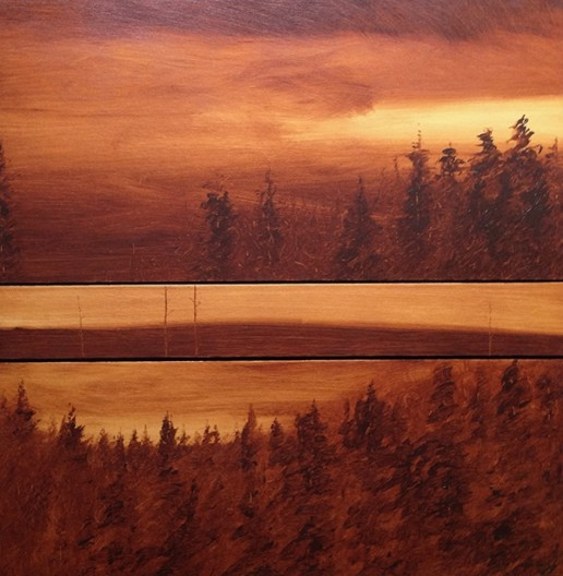 Dave Hall, Dawn and Dusk (Horizontal Triptych)