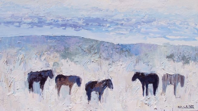 Theodore Waddell, Picabo Horses #2