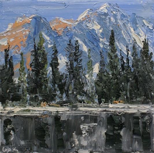 James Pringle Cook, Victor Lake Study