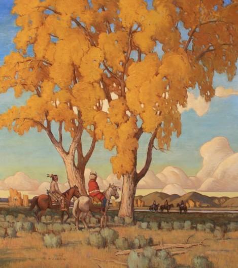 W. Steve Seltzer, Cottonwoods & Cloudshapes