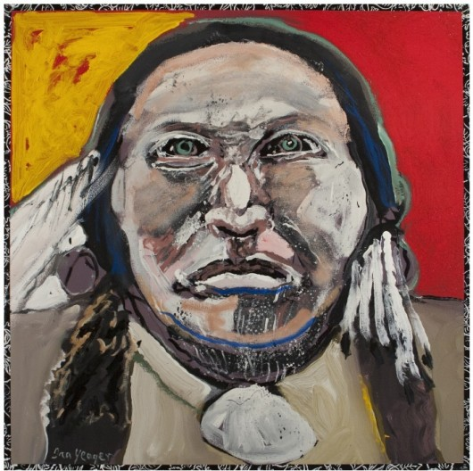 Ira Yeager, Indian Portrait #14123