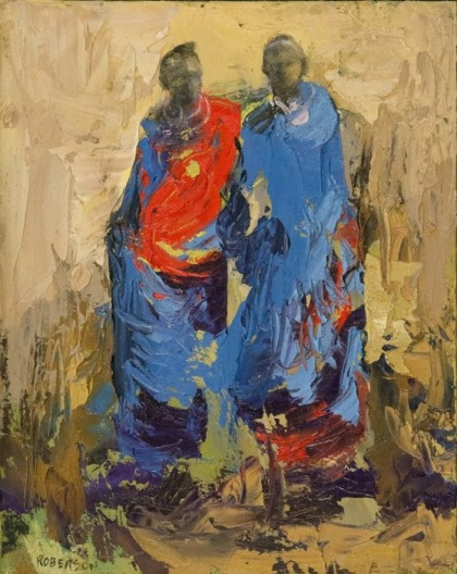 Mary Roberson, Painted Warriors