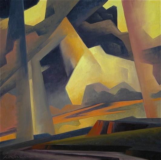 Ed Mell, Colored Rain I