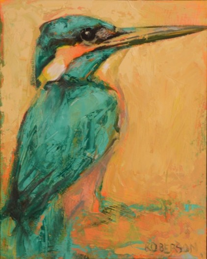 Mary Roberson, Malachite Kingfisher