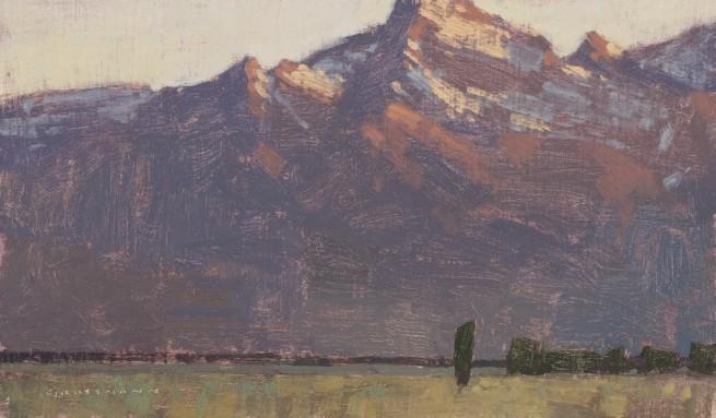 David Grossmann, Sunrise from Gros Ventre Junction