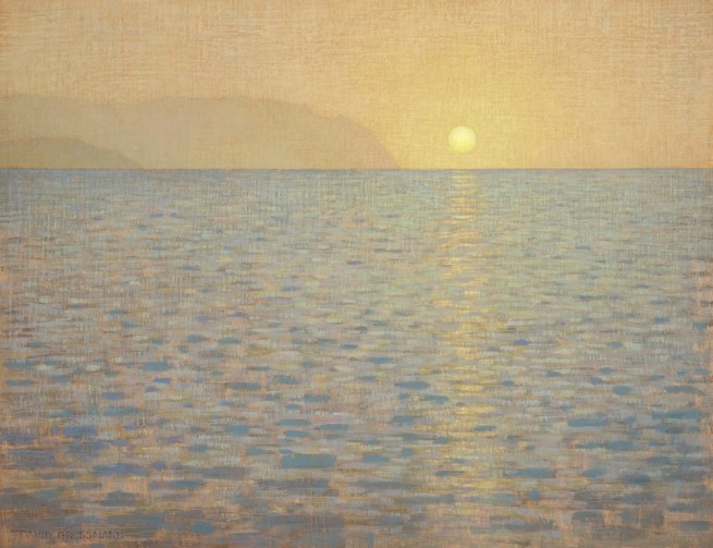 David Grossmann, Sea and Reflected Sun