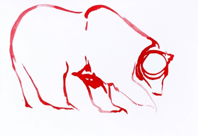 Red Horses by September Vhay, Red Bear 11