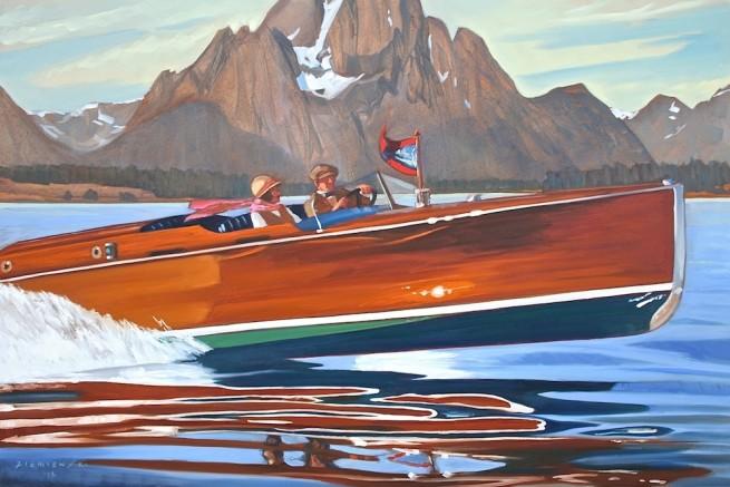Dennis Ziemienski, Speed Boat