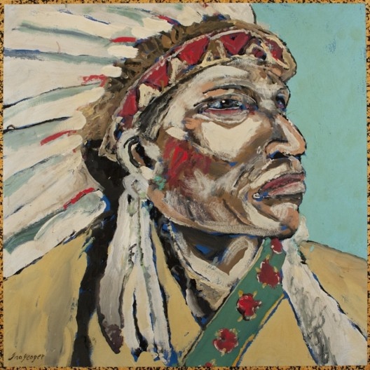 Ira Yeager, Indian Portrait #14116