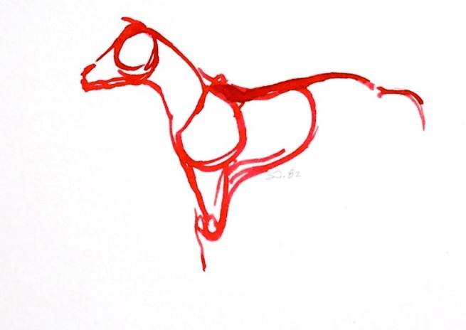 Red Horses by September Vhay, Red Horse 82