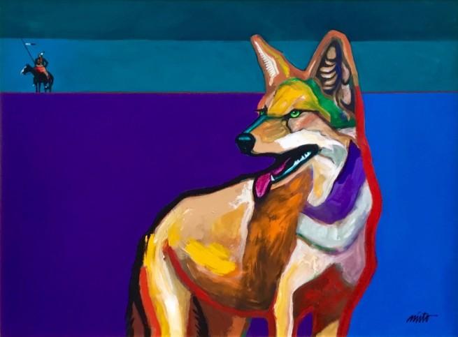 John Nieto, Returns From Scouting Meets Coyote