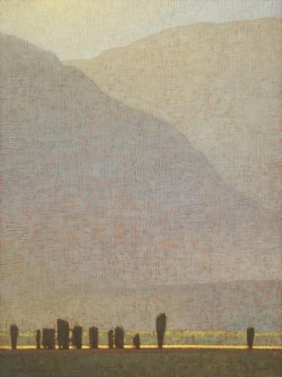 David Grossmann, Late Afternoon Light Near Antelope Flats