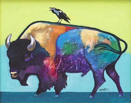 John Nieto, Raven Speaks to Buffalo