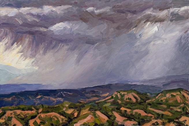 Jivan Lee, Circle Drive #1 - Passing Storm