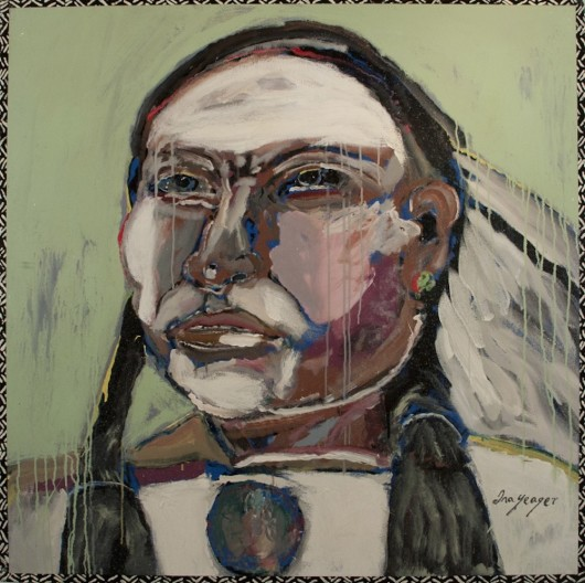 Ira Yeager, Indian Portrait #14146