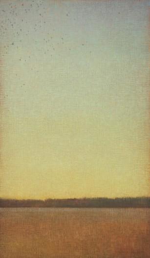 David Grossmann, Green Sky with Birds