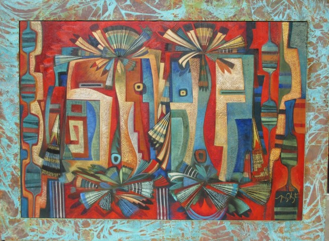 Tony Abeyta, Modernist Yei Composition