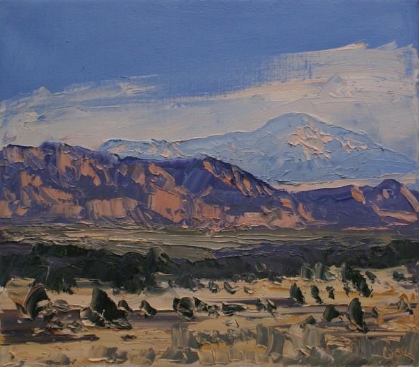 James Pringle Cook, Aura Valley Study