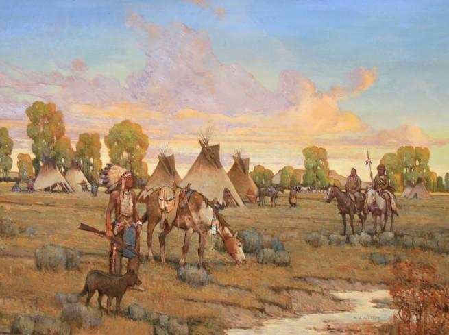W. Steve Seltzer, The War Chiefs Gather
