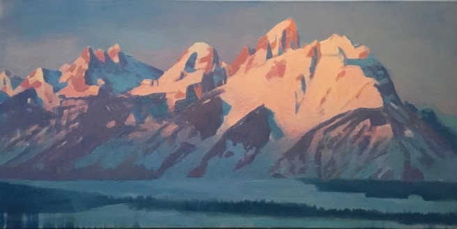 Travis Walker, Teton Sunrise/Rocky Mountain Sunrise No. 2