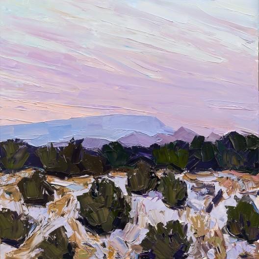 Jivan Lee, Santa Fe Overlook #7, Before Dawn