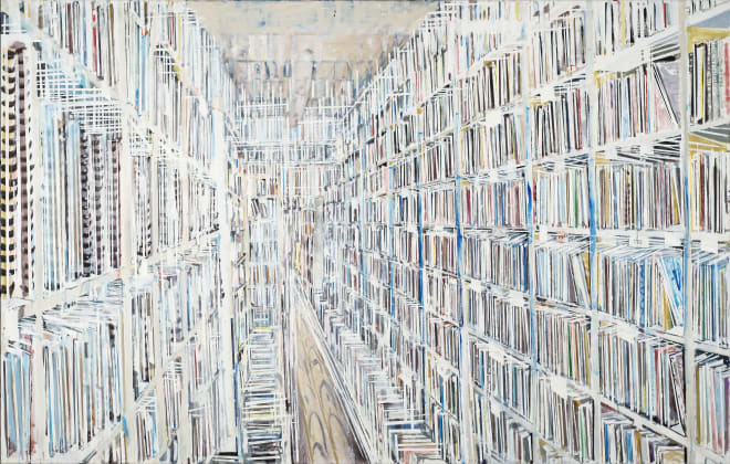 Ohne Titel (Bibliothek) / Without Title (Library)