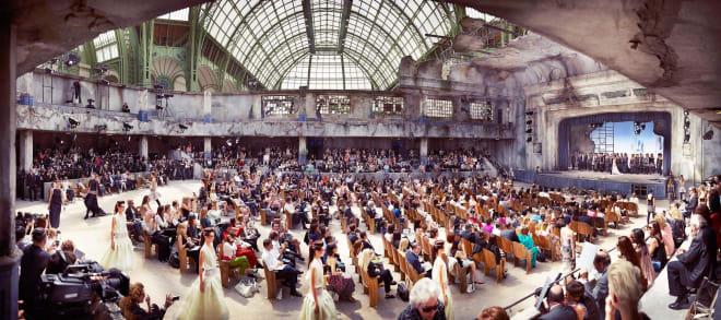 Chanel, The Broken Cinema Haute Couture, Paris Grand Palais