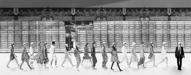 Chanel Machine BW, Spring/Summer 2017, Le Grand Palais, Paris