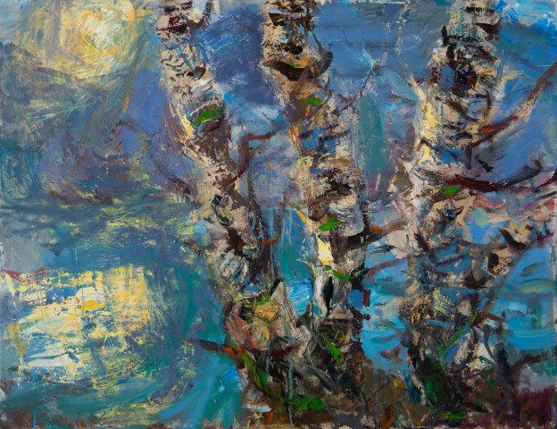 Allan MacDonald, sun-edged, north-facing