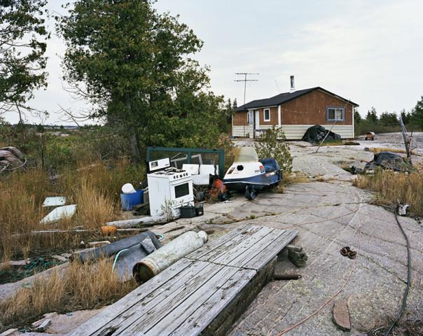 Joseph Hartman, Fish Camp #3, Georgian Bay, ON, 2012