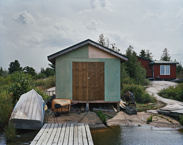 Joseph Hartman, Fish Camp #6, Georgian Bay, ON, 2018