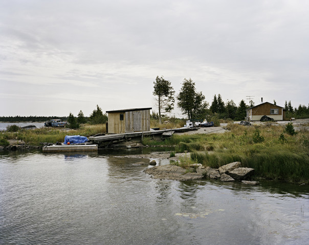 Joseph Hartman, Fish Camp #1, Georgian Bay, ON, 2012