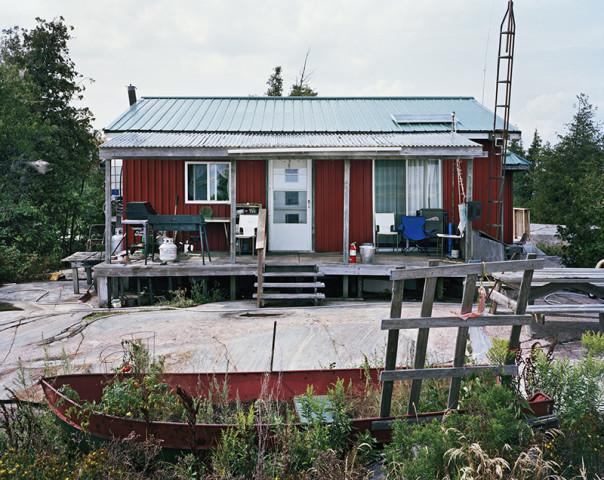 Joseph Hartman, Fish Camp #5, Georgian Bay, ON, 2018