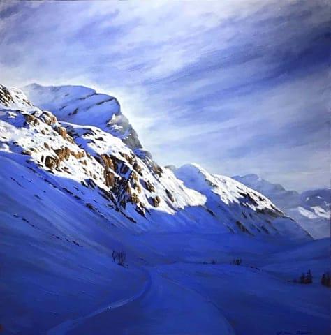 William Thomas, Le Fornet, Val d'Isere, 2019