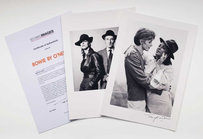 Terry O'Neill, BOWIE BY O'NEILL - DELUXE EDITION