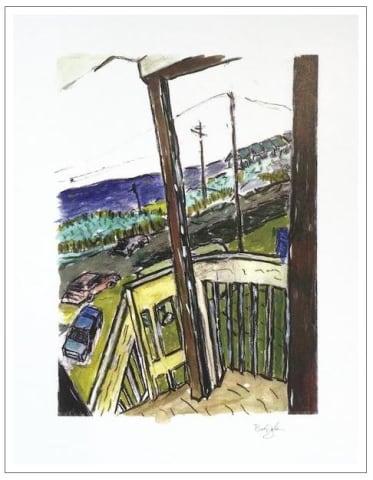 Bob Dylan, Amagansett 70.1 - original, 2008