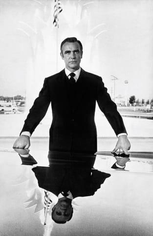 Sean Connery as Bond