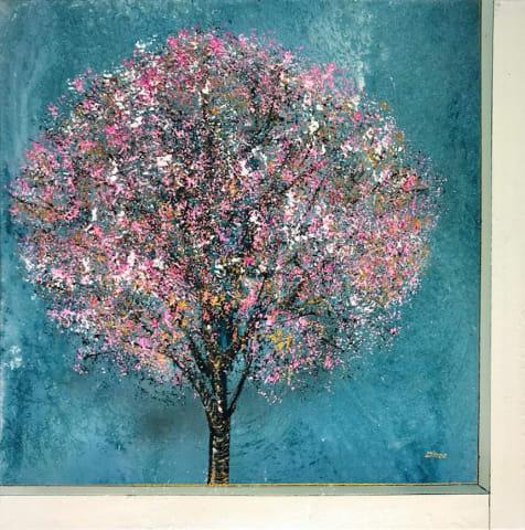 Daniel Hooper, Blossom Series #1, 2018